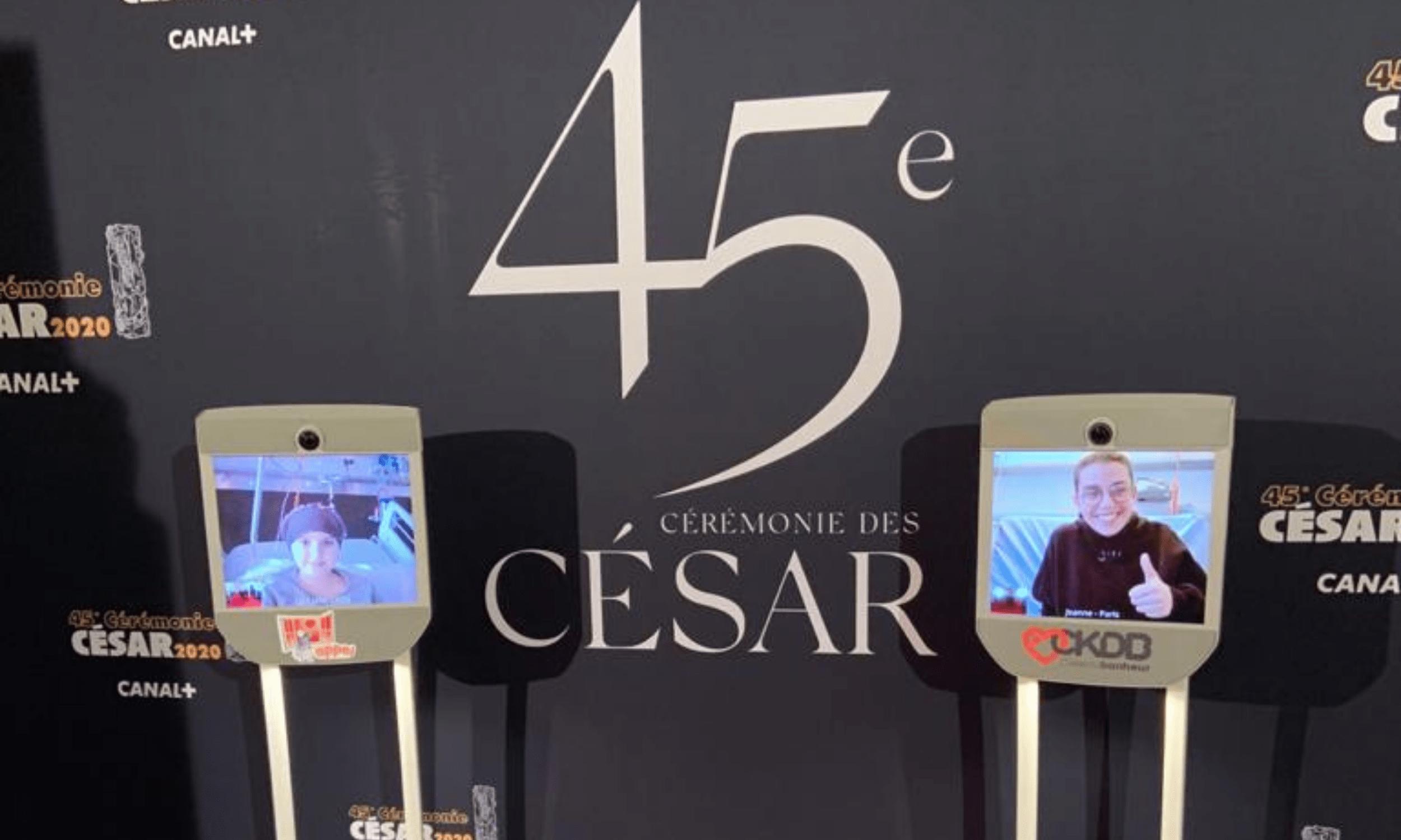 Cesar 2020 avec les associations APPEL et CeKeDuBonheur
